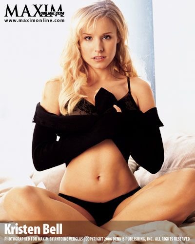 Kristen Bell (Veronica Mars, Forgetting Sarah Marshall, Gossip Girl [narrator])