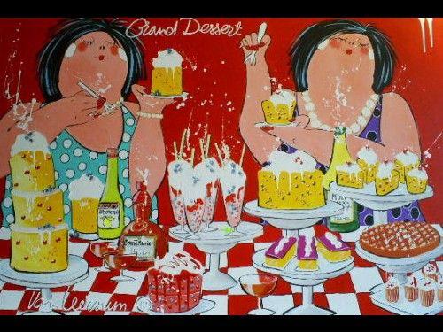 Grand dessert - Elly van Leersum