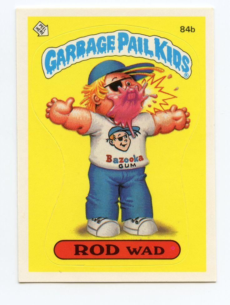 33 Best Garbage Pail Kids Images On Pinterest Garbage