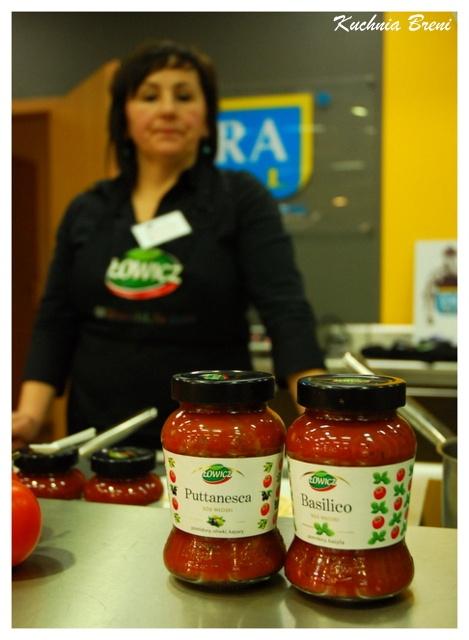 Blogerki miały okazję nie tylko przyrządzić danie z sosami włoskimi Łowicz, ale również posmakować je!
