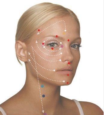 Источник Активное воздействие на точки молодости на лице обеспечивает разглаживание морщин, улучшает кровообращение кожи, усиливает лимфодренажный эффект. Точки молодости – это биологически активные т…