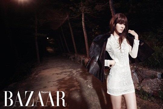 Harper's Bazaar Korea - November 2012 (김하늘)