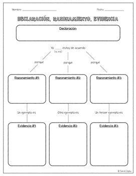 best essay planner ideas college planner  spanish argumentative persuasive essay planner claim reason evidence
