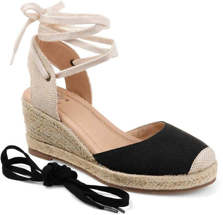 ecb2b3557a7a9 Women Monte Espadrille Wedge Sandal -Light Brown in 2019   Products   Lace  up espadrille wedges, Espadrilles, Womens espadrilles wedges
