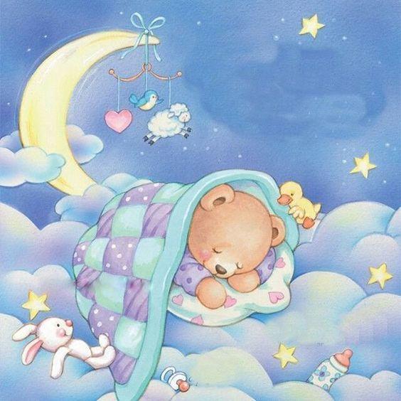 Сладкий сон детей картинка