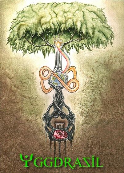 """Yggdrasil; the """"World Tree"""" of Norse mythology"""