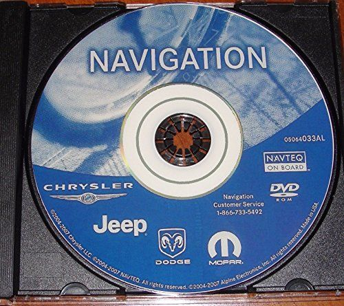 Chrysler Dodge Jeep Plymouth LATEST Navigation Map Update DVD REC RB1 05064033AL GPS. For product info go to:  https://www.caraccessoriesonlinemarket.com/chrysler-dodge-jeep-plymouth-latest-navigation-map-update-dvd-rec-rb1-05064033al-gps/