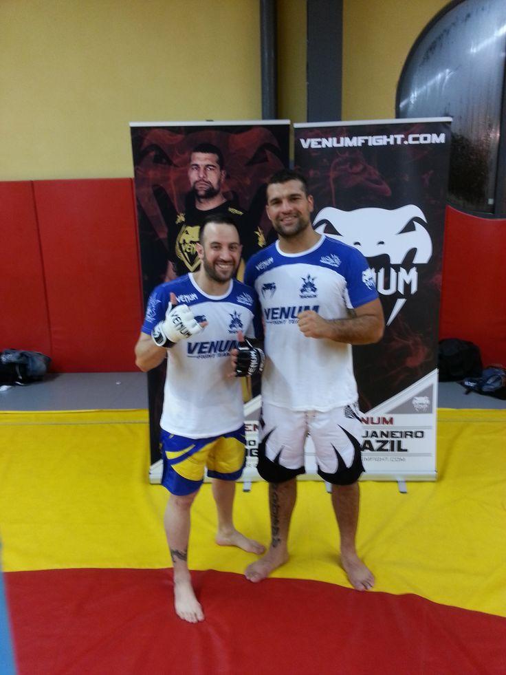 Training with Ufc Champion Mauricio Shogun Rua , France 2012