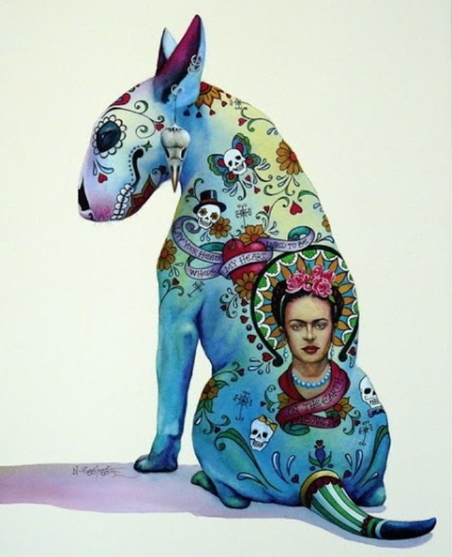 Day of the Dead Dog Frida