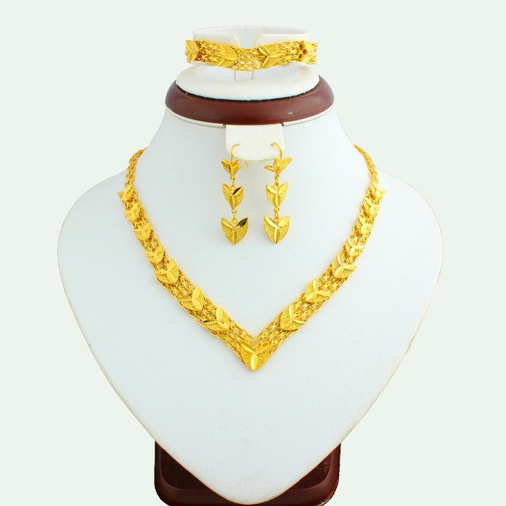 The New 2016 Ethiopian Jewelry Set Gold Plated Women Fashion Jewelry Set