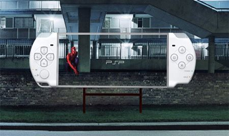 Sony's smart use of the environment (and a little Marvel inspiration) to promote their product