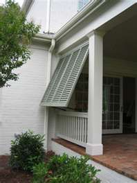 Bermuda shutters- Pool cabana
