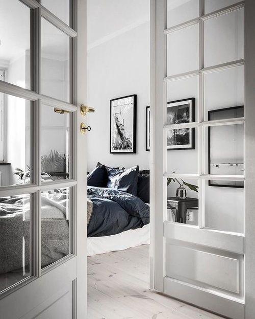 bedroom, home, and bed-bilde