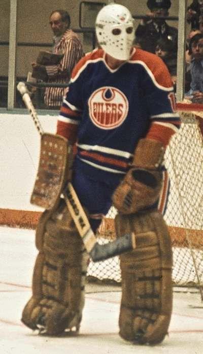 Jacques Plante - Oilers