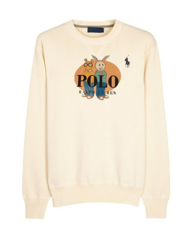 Ralph Lauren Arthur Sweatshirt from clothesmapper.com This sweatshirt is Made To Order, one by one printed so we can control the quality.