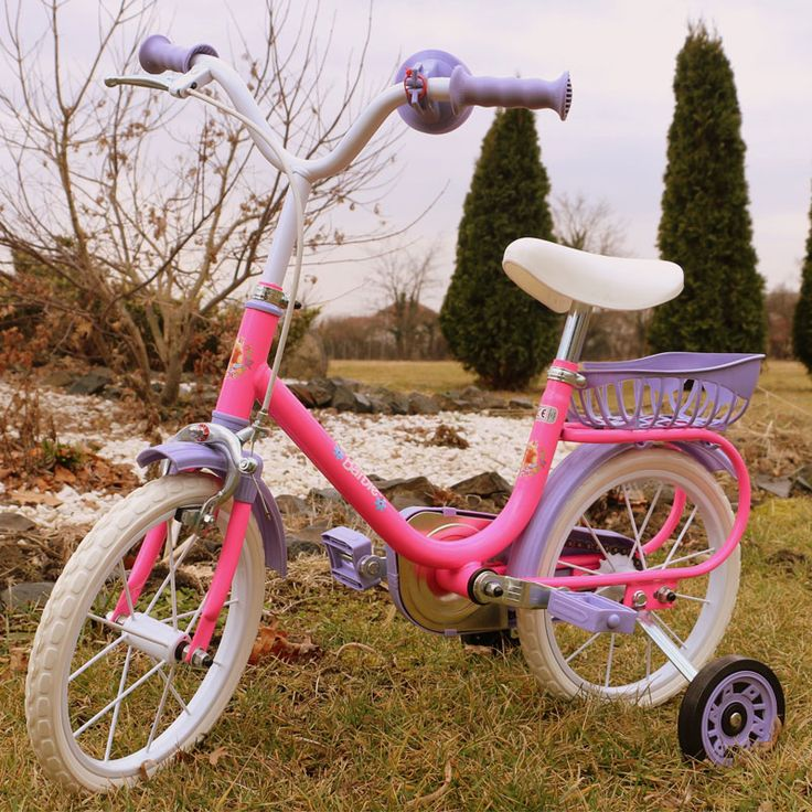 Bicicleta copii Barbie roz Yakari