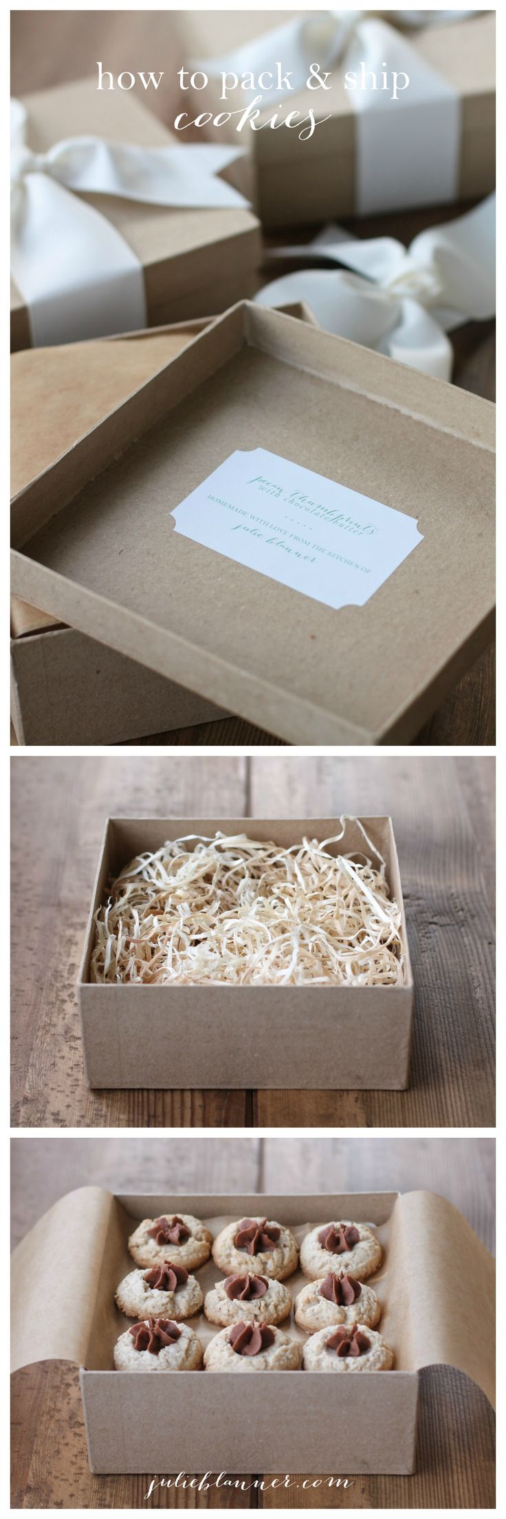 How to package & ship cookies safely & beautifully!