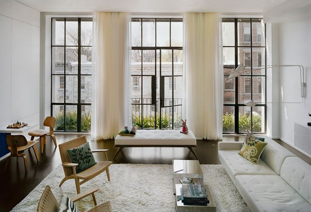 Дуплекс в Нью-Йорке, 220 м²