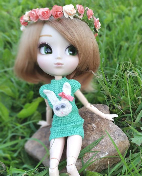 Hey, I found this really awesome Etsy listing at https://www.etsy.com/ru/listing/521848276/pullip-knitted-mint-dress-with-a-rabbit