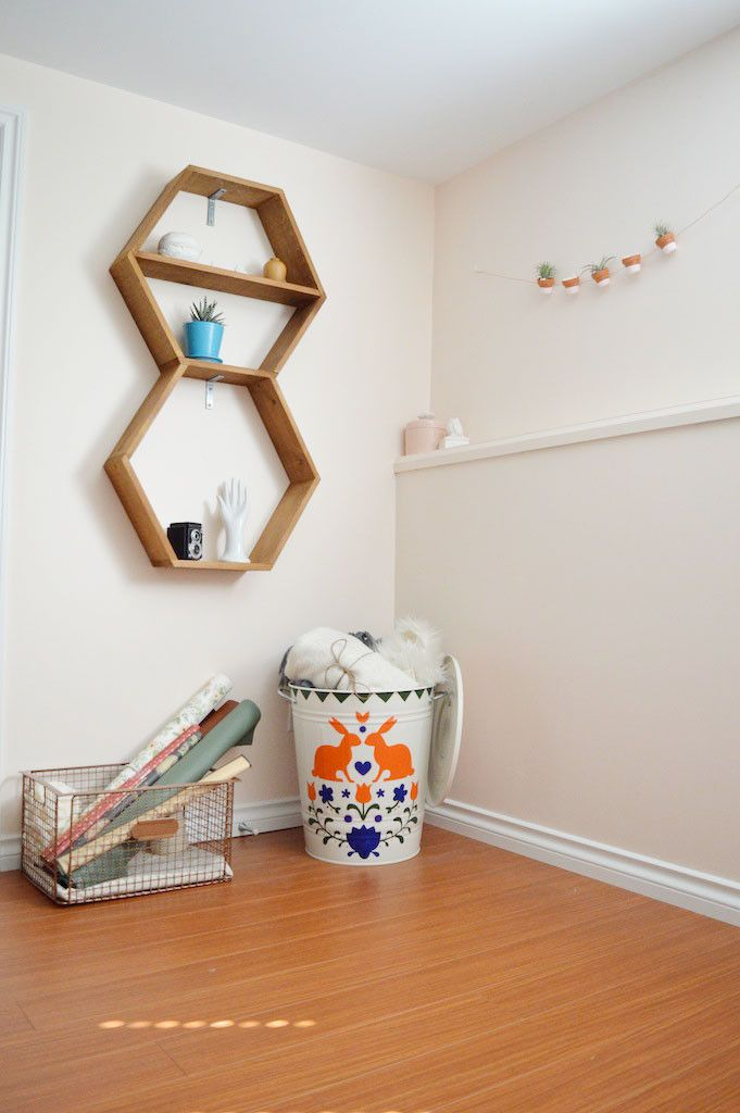 Scandinavian Trash Can DIY    Oh Lovely Bows