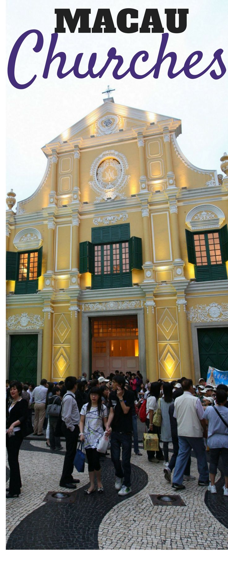 Beautiful St. Dominic's Church in Macau! One of many historical churches throughout the city.