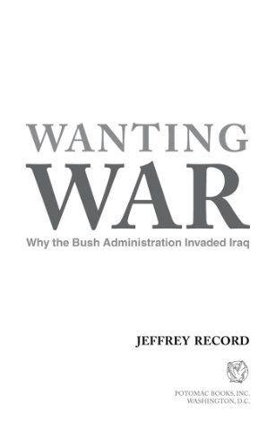 The bush administration and iraq essay