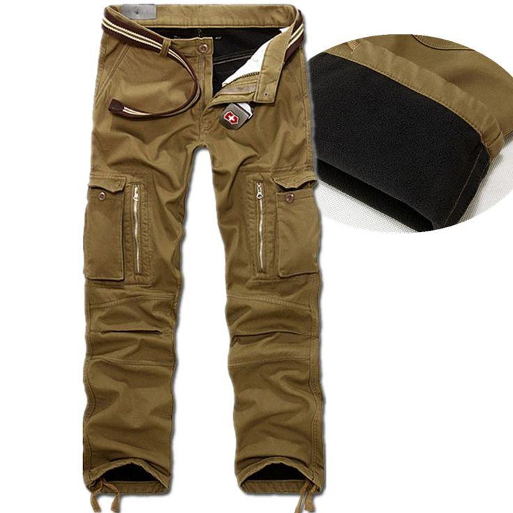 winter Warm Fashion Brand Men mens sweat casual Man Joggers camouflage  camo militar bottoms army cargo Pants Big Size 40