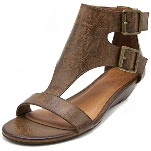 1007ef96a7c Pin by Cathy Carpenter on Fashion Ware | Wedge sandals, Open toe ...