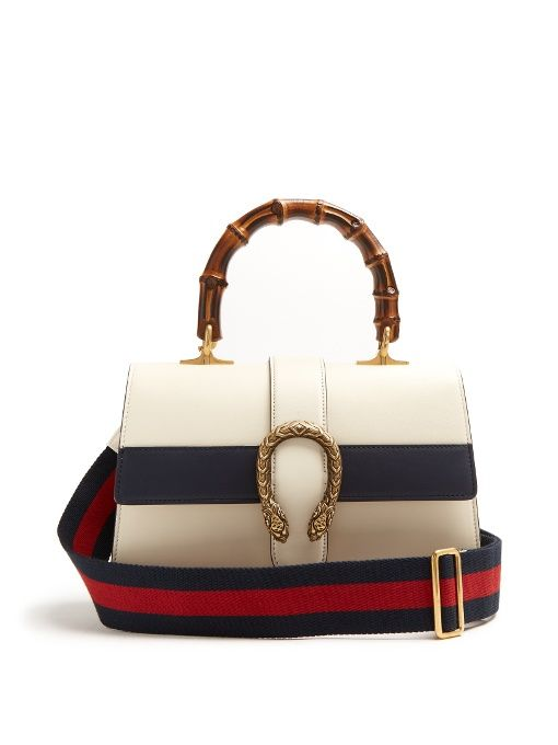 GUCCI Dionysus Bamboo-Handle Medium Leather Tote. #gucci #bags #canvas #tote #leather #lining #shoulder bags #hand bags #