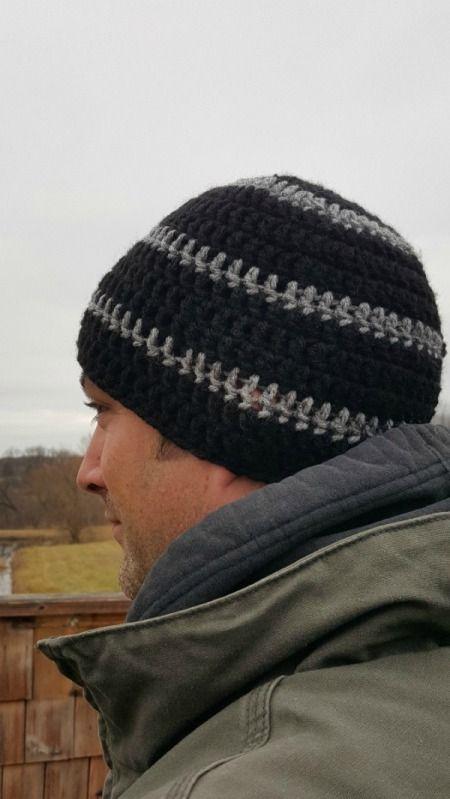 Making A Men S Crocheted Skull Cap Free Pattern Crochet