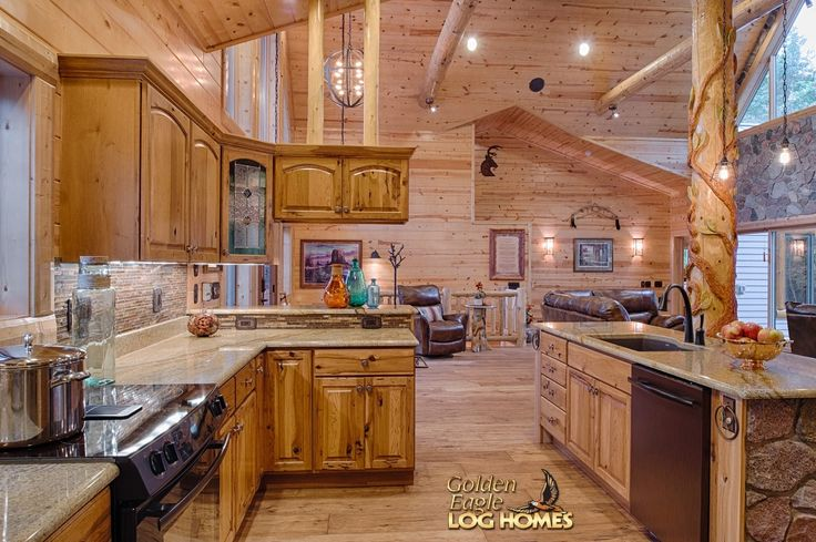 Images Of Kitchens In Log Homes