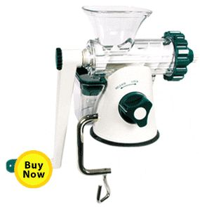 Cheap and easy to use WHEAT GRASS juicer $50 | (as recommended by @Kristján Örn Kjartansson Carr in Crazy, Sexy, Diet)
