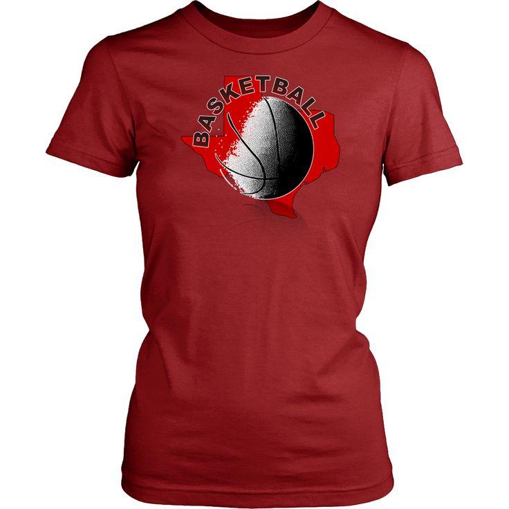 Texas Tech Basketball Women's T-Shirt Classic Fit