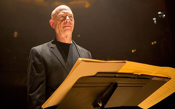 J.K. Simmons has the gift of ease, which makes Fletcher all the more terrifying: http://insidemovies.ew.com/2014/10/10/jk-simmons-whiplash/