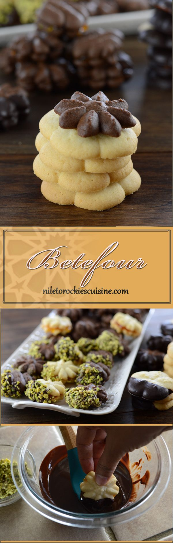 Betefour is a famous kind of Eid cookies that I've showed you before, it is a delicious kind of cookies which is kid and adult friendly. This is usually enjoyed along with Kahk, Lancashire cookies and many other types of cookies during Eid time in Egypt. It is always associated with happy memories and gatherings during those  special Eid days.