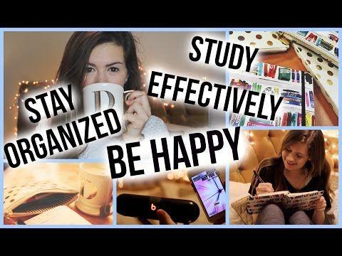Super Fun Study & Organization Tips for School! || Danielle Marie - YouTube