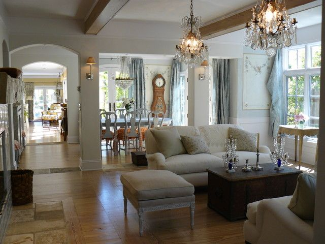 Attractive French Living Room Design Ideas. Traditional ...