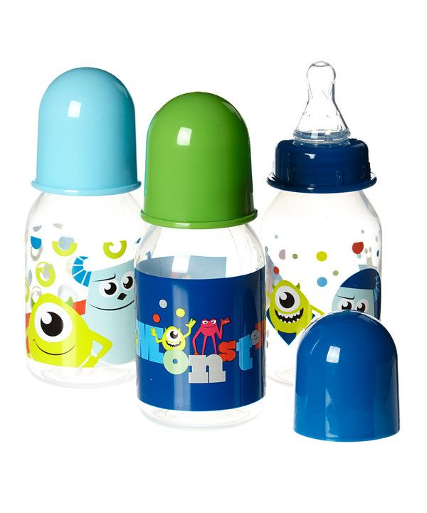 Look at this Disney Baby Blue Monsters Inc. 5-Oz. Bottle - Set of Three on #zulily today!
