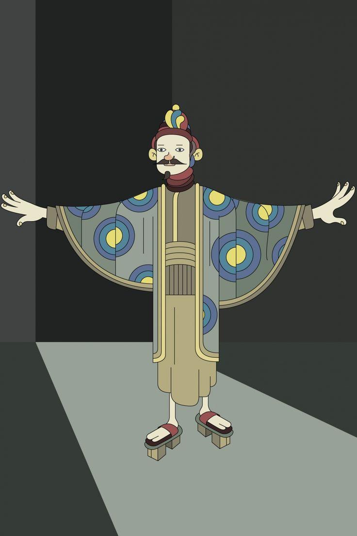 Some character designs - El Rayo Blanco