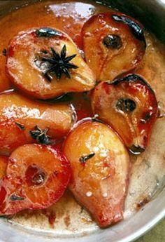 Roast quinces