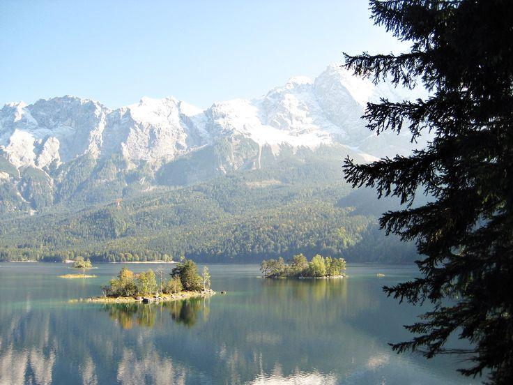 Eibsee bei Garmisch (sehr leicht, 2:00h) | Leichte Wanderungen