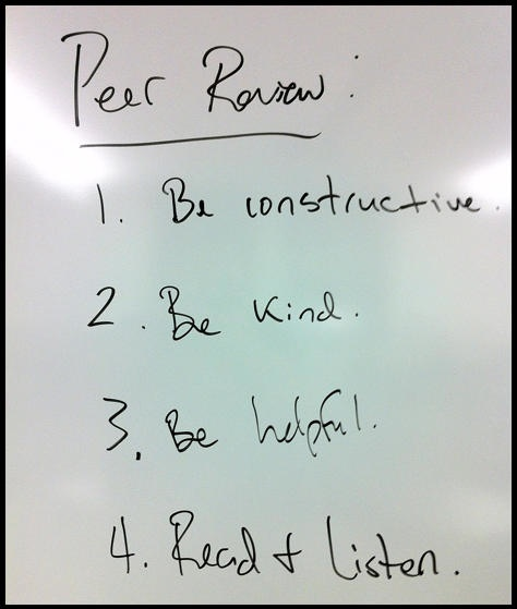 17 Best images about Peer Review on Pinterest | Writers notebook ...