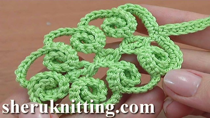 HOW TO CROCHET SPIRAL LEAF TUTORIAL 47 We invite you to visit https://www.sheruknitting.com/ There are over 800 video tutorials of crochet and knitting in different techniques. Also, you can see unique authors' design in these tutorials only on a website and only for members  JOIN NOW  https://www.sheruknitting.com/membership.html 1.No advertising on all tutorials 2.Valuable in different devices 3.Step by step and detailed video tutorials 4.New courses added every week...