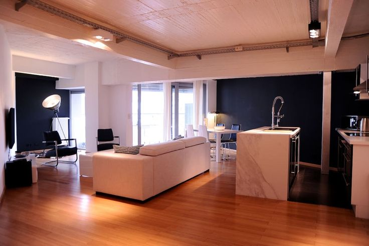 Check out this awesome listing on Airbnb: MODERN, SPACIOUS (105 m2) & CENTRAL - Lofts for Rent in Saint-Gilles