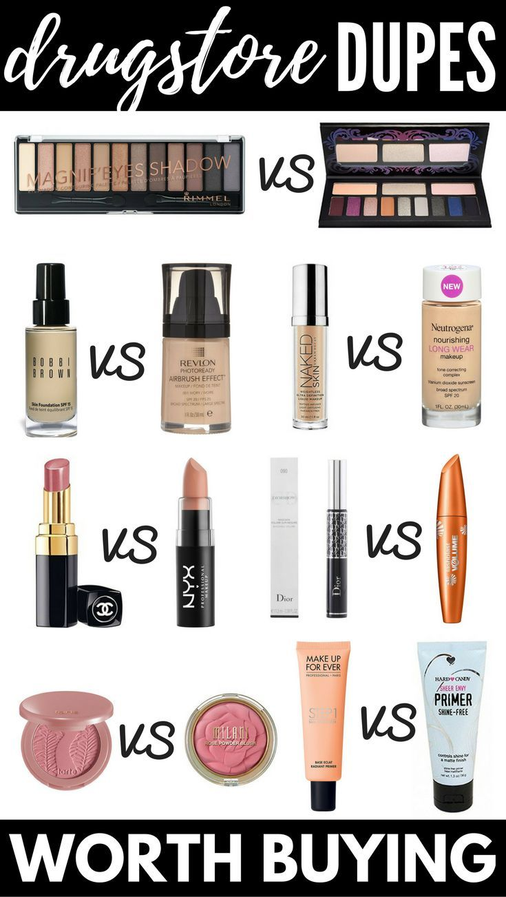 The Best Makeup Dupes: 12 Drugstore Dupes For High End
