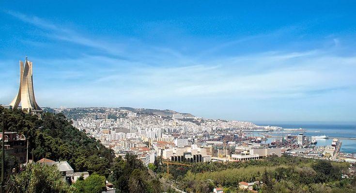Panorama d'Alger, en Algérie
