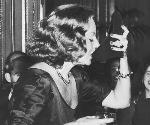 Tallulah Bankhead At The Ritz In Piccadilly 1951