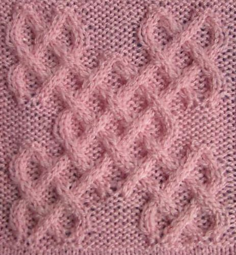 Celtic Little Square (#3) by Devorgilla's Knitting - Celtic Collection - Галерея - Knitting Forum.Ru