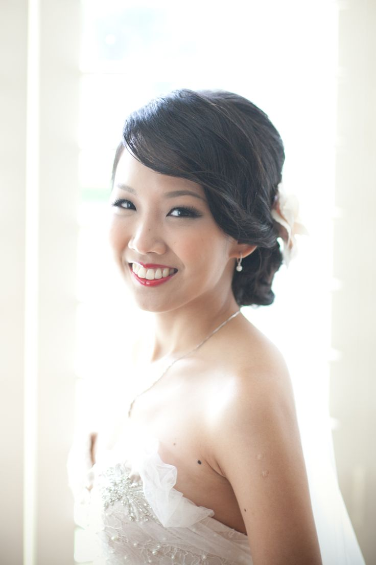 vintage style hair and makeup by Amy Chan Hair & Makeup Artistry