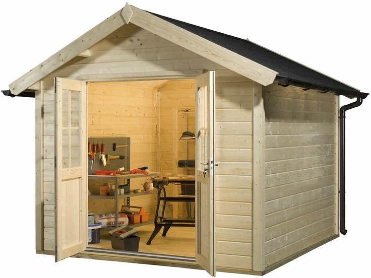 Tuinhuisje / blokhut model Basic CA2802 van Bear County - Maison et décoration - Jardinage - Bear County